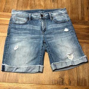 Ann Taylor Loft Jean Shorts
